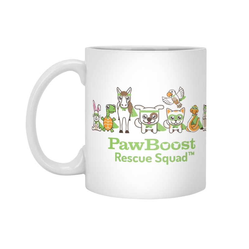 Rescue Squad (group) Accessories Mug by PawBoost's Shop