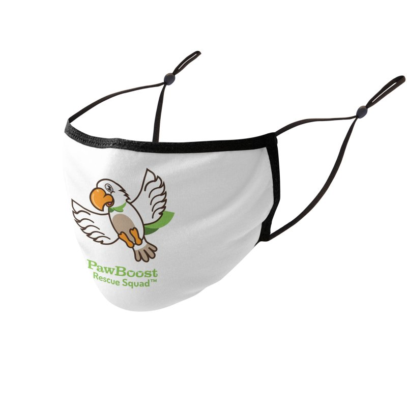 Perry (parrot) Accessories Face Mask by PawBoost's Shop
