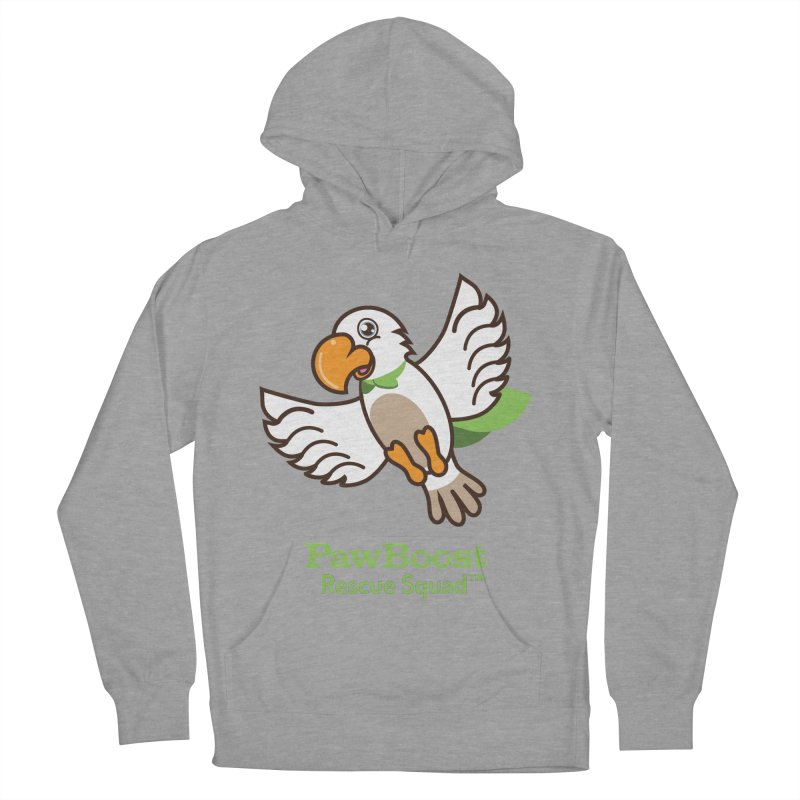 Perry (parrot) Women's Pullover Hoody by PawBoost's Shop