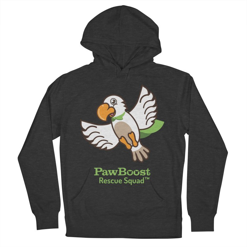 Perry (parrot) Men's Pullover Hoody by PawBoost's Shop