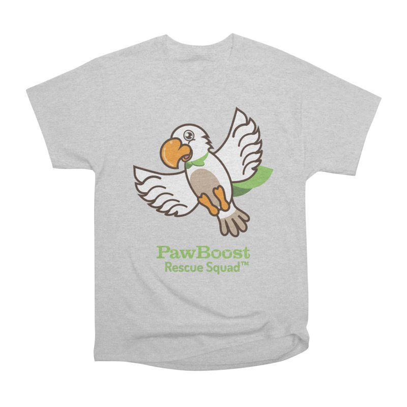 Perry (parrot) Women's Heavyweight Unisex T-Shirt by PawBoost's Shop