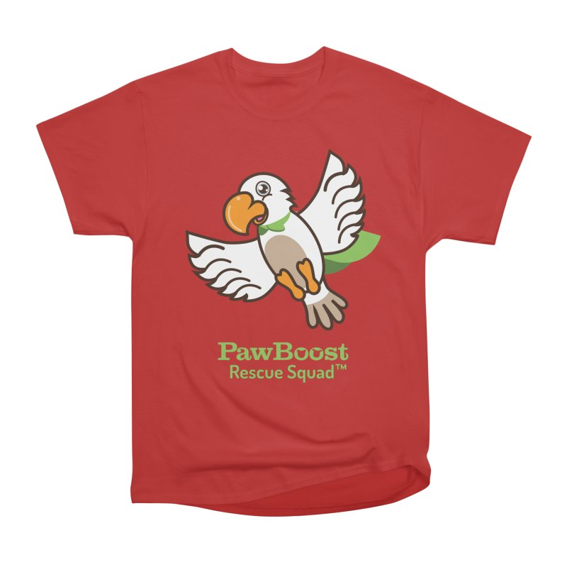 Perry (parrot) Men's Heavyweight T-Shirt by PawBoost's Shop