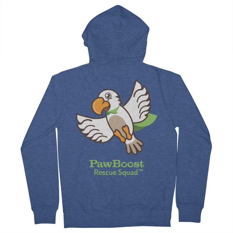 Perry (parrot) Women's Zip-Up Hoody by PawBoost's Shop
