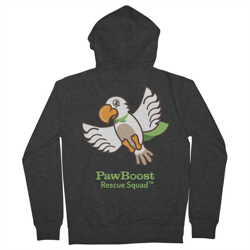 Perry (parrot) Men's Zip-Up Hoody by PawBoost's Shop