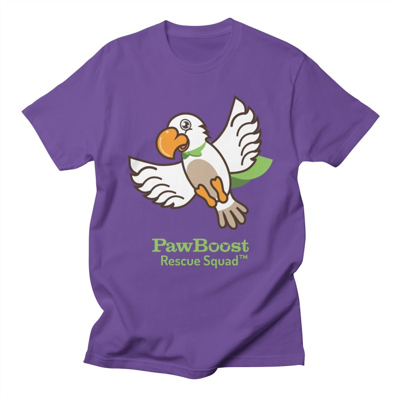 Perry (parrot) Men's Regular T-Shirt by PawBoost's Shop