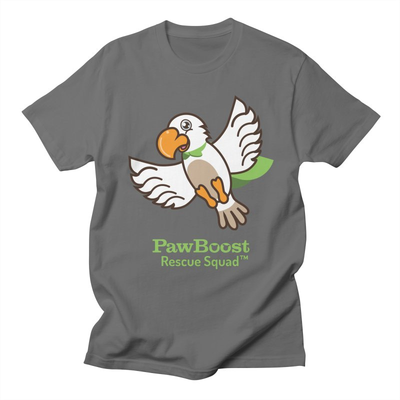 Perry (parrot) Men's T-Shirt by PawBoost's Shop