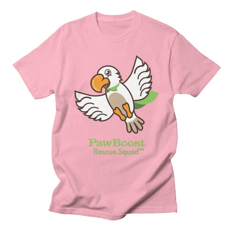 Perry (parrot) Women's Regular Unisex T-Shirt by PawBoost's Shop