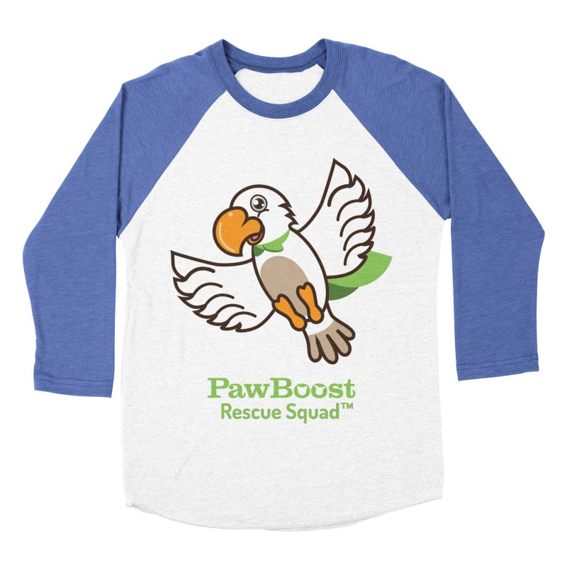 Perry (parrot) Women's Baseball Triblend Longsleeve T-Shirt by PawBoost's Shop