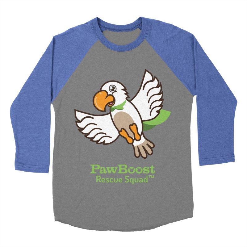Perry (parrot) Men's Baseball Triblend Longsleeve T-Shirt by PawBoost's Shop