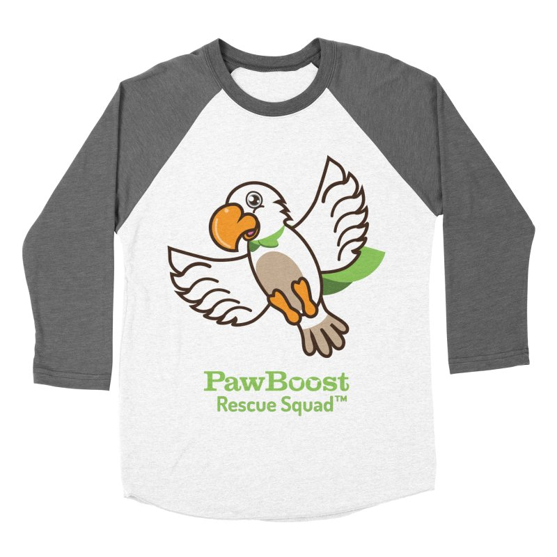 Perry (parrot) Men's Baseball Triblend T-Shirt by PawBoost's Shop