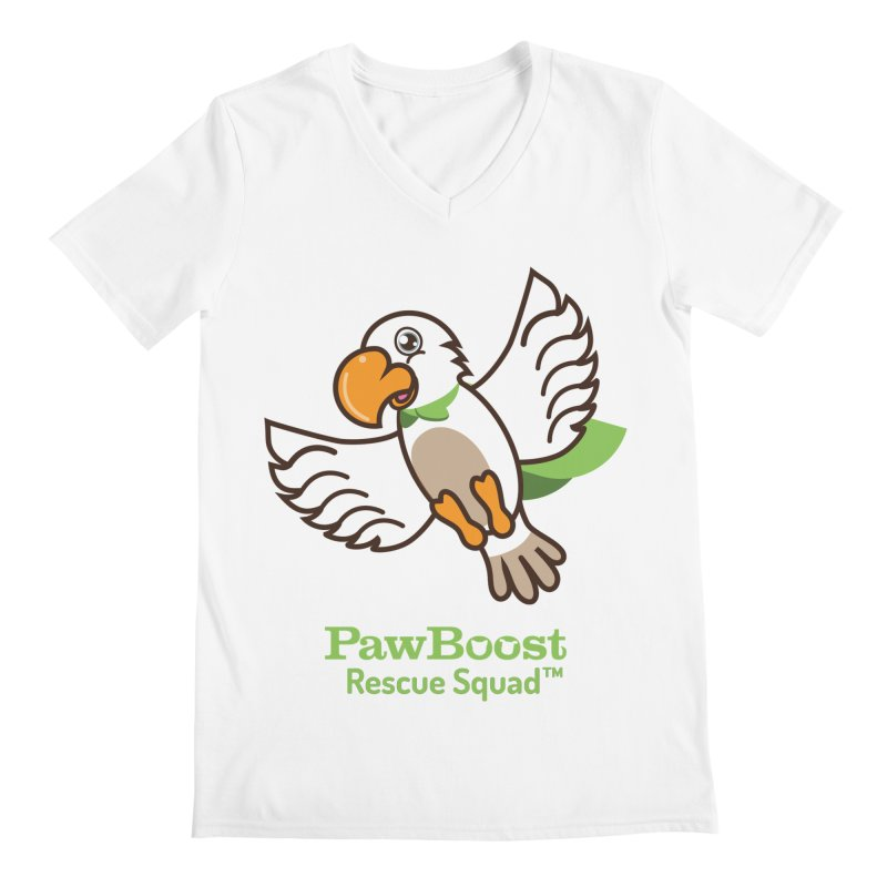 Perry (parrot) Men's V-Neck by PawBoost's Shop