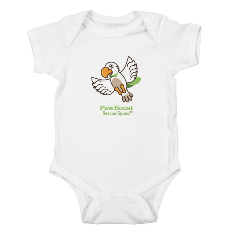 Perry (parrot) Kids Baby Bodysuit by PawBoost's Shop