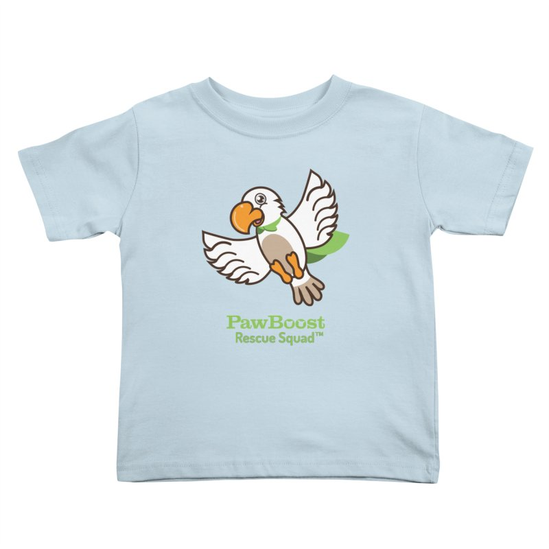 Perry (parrot) Kids Toddler T-Shirt by PawBoost's Shop
