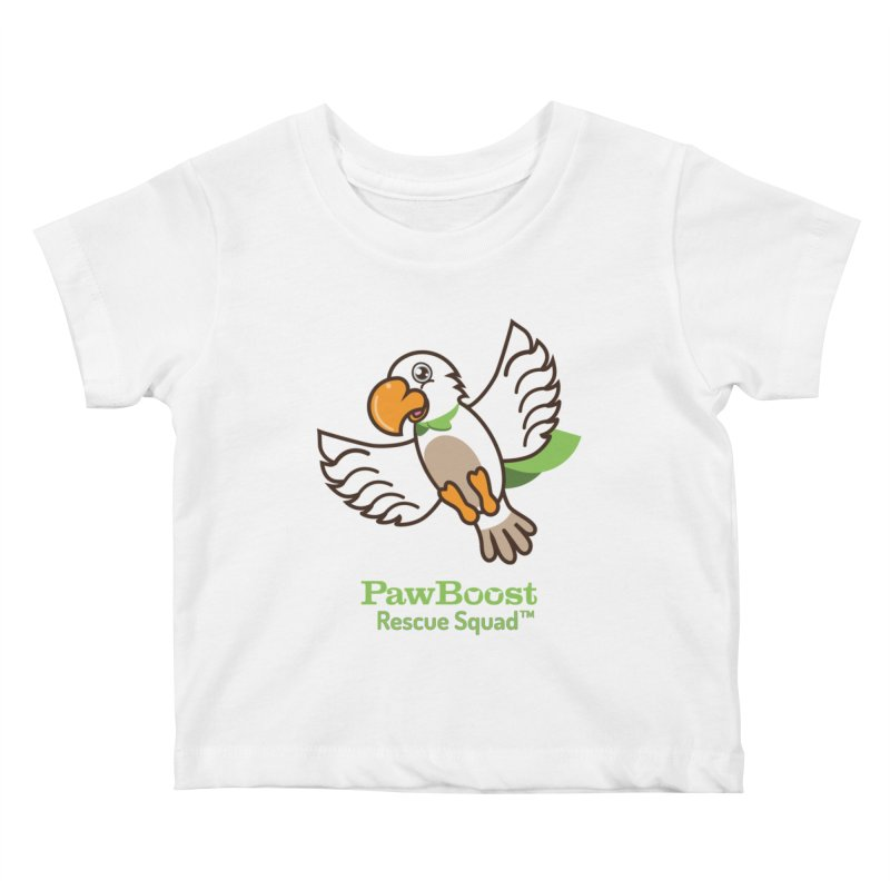 Perry (parrot) Kids Baby T-Shirt by PawBoost's Shop
