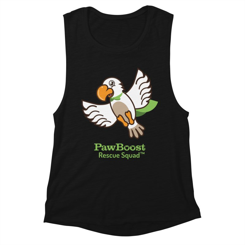 Perry (parrot) Women's Tank by PawBoost's Shop