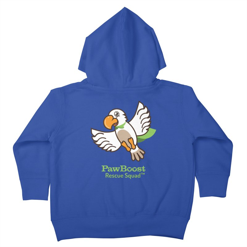 Perry (parrot) Kids Toddler Zip-Up Hoody by PawBoost's Shop