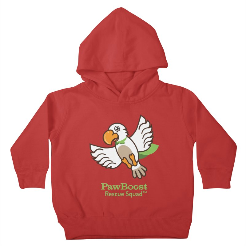 Perry (parrot) Kids Toddler Pullover Hoody by PawBoost's Shop