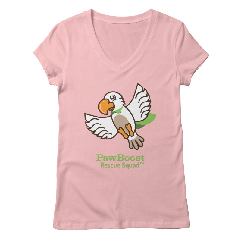 Perry (parrot) Women's Regular V-Neck by PawBoost's Shop
