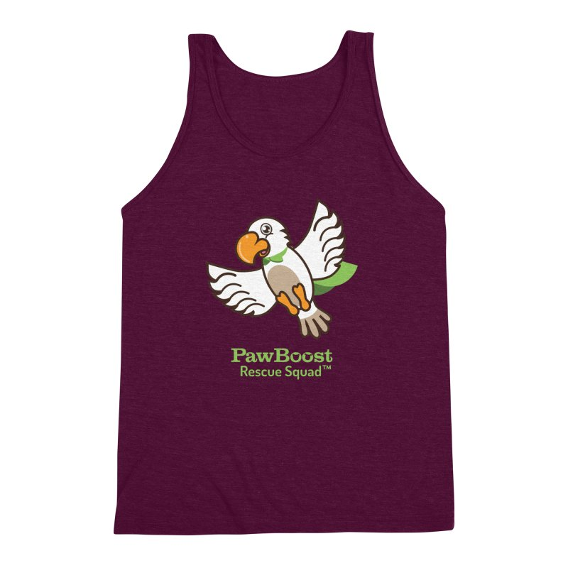 Perry (parrot) Men's Triblend Tank by PawBoost's Shop