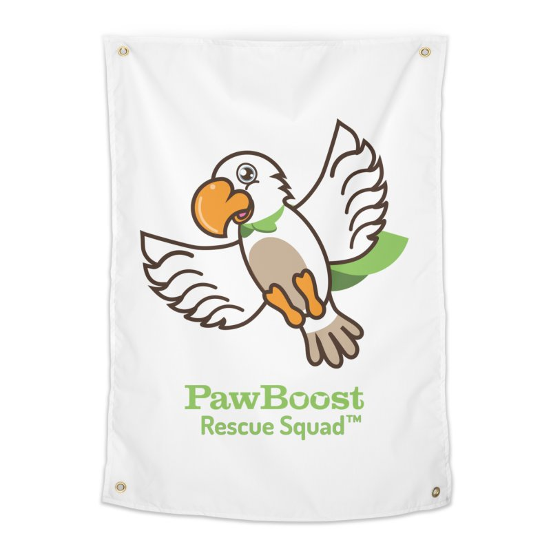 Perry (parrot) Home Tapestry by PawBoost's Shop