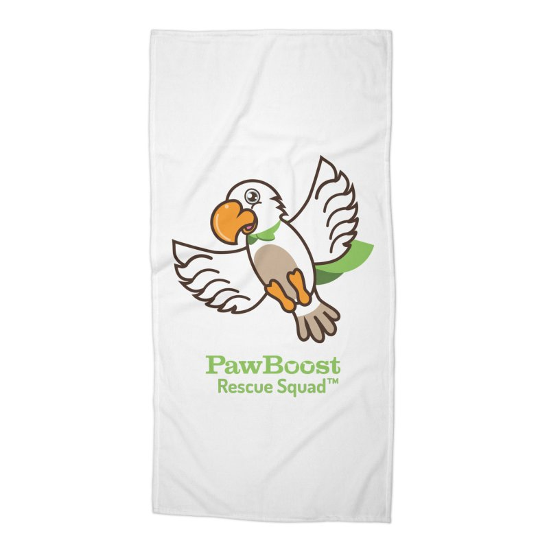 Perry (parrot) Accessories Beach Towel by PawBoost's Shop