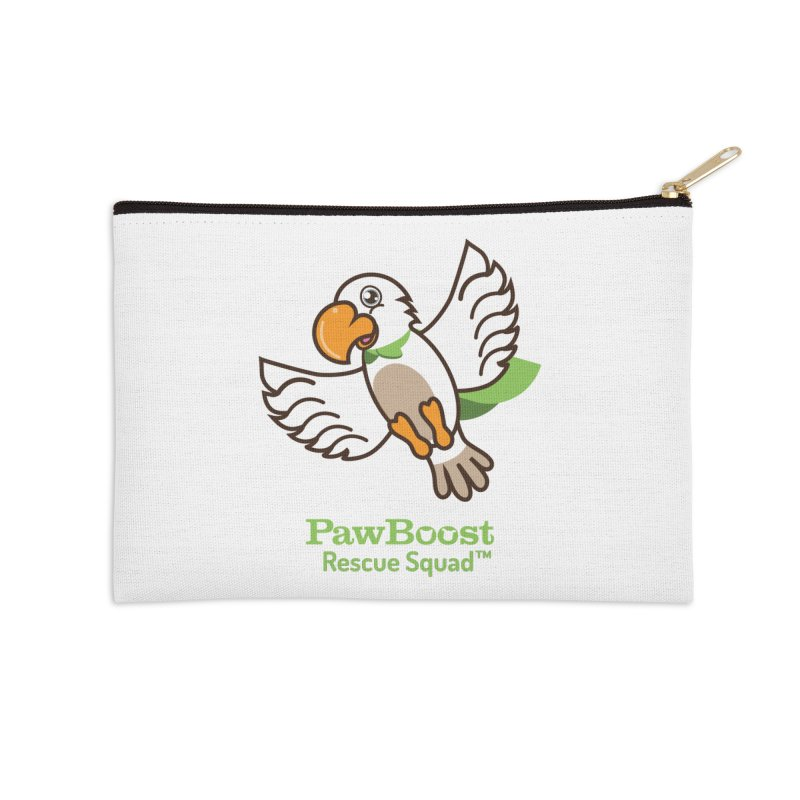 Perry (parrot) Accessories Zip Pouch by PawBoost's Shop