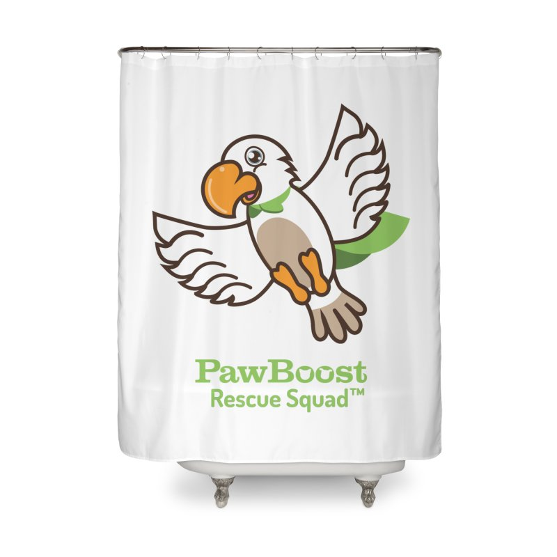 Perry (parrot) Home Shower Curtain by PawBoost's Shop