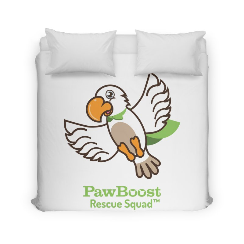 Perry (parrot) Home Duvet by PawBoost's Shop