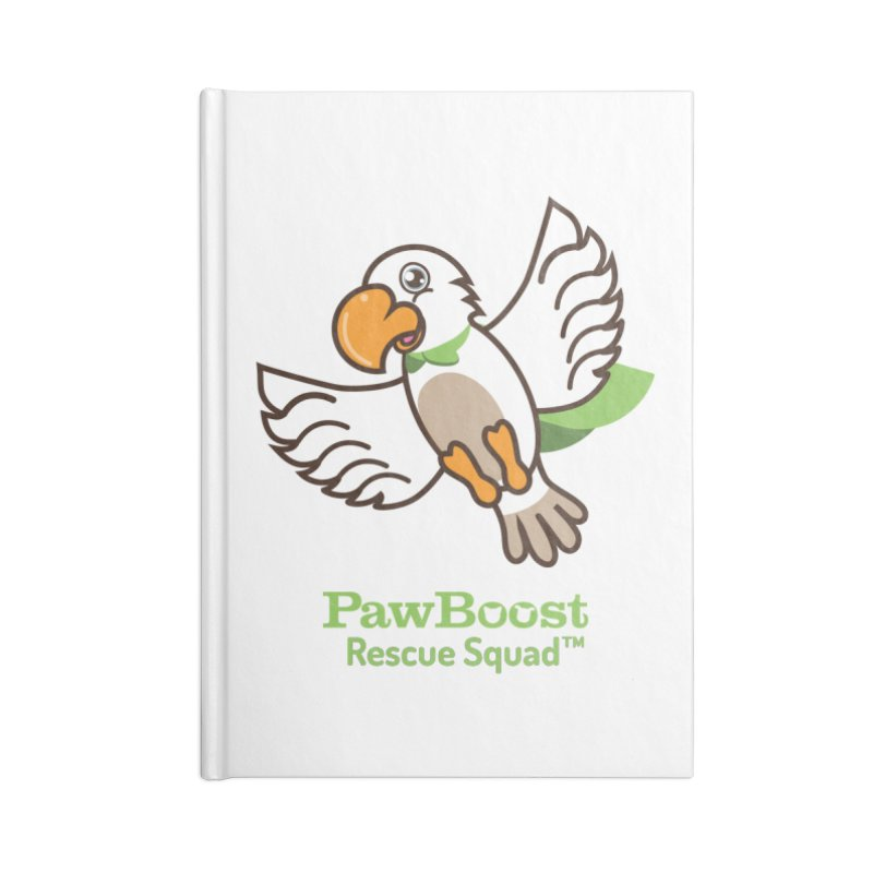 Perry (parrot) Accessories Notebook by PawBoost's Shop