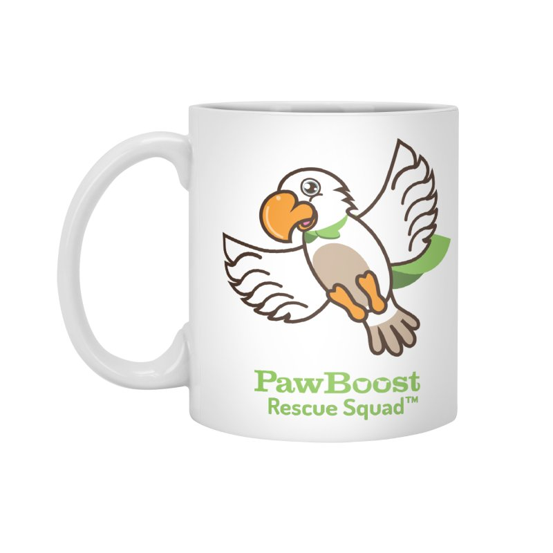 Perry (parrot) Accessories Mug by PawBoost's Shop