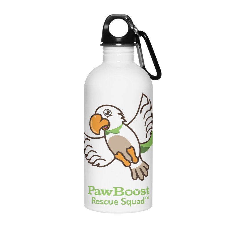Perry (parrot) Accessories Water Bottle by PawBoost's Shop