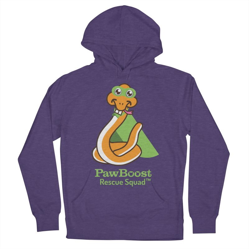 Stanley (snake) Women's French Terry Pullover Hoody by PawBoost's Shop