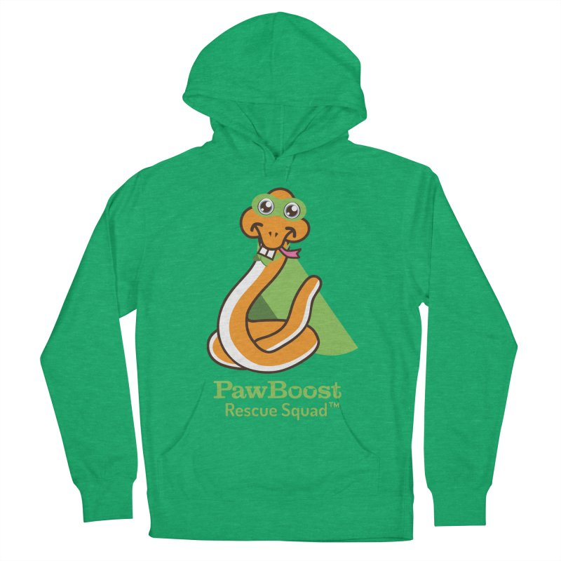 Stanley (snake) Men's French Terry Pullover Hoody by PawBoost's Shop
