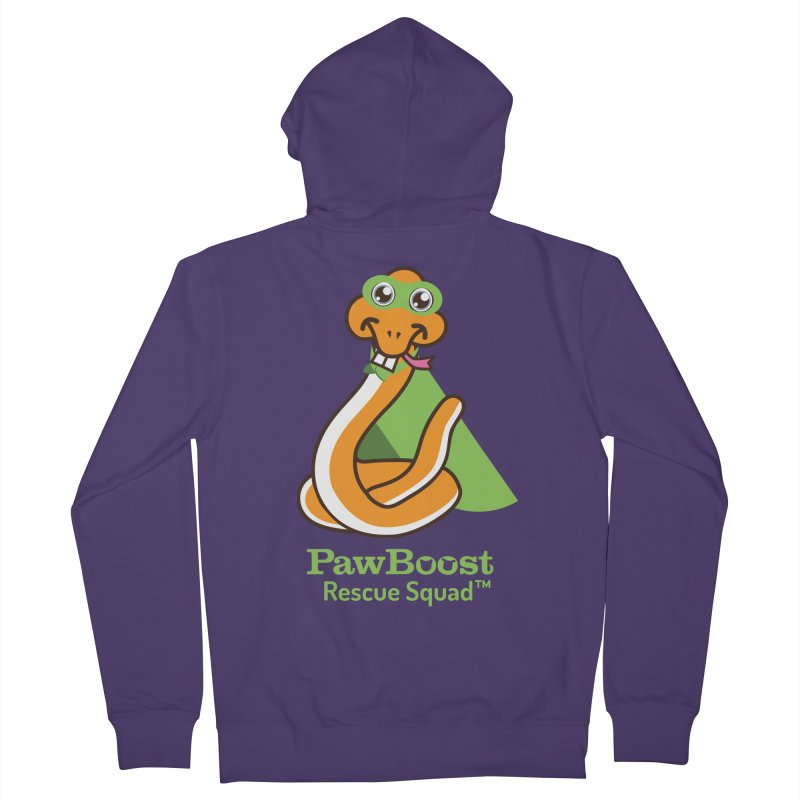 Stanley (snake) Women's Zip-Up Hoody by PawBoost's Shop