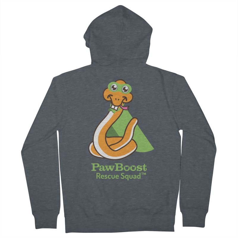 Stanley (snake) Men's Zip-Up Hoody by PawBoost's Shop