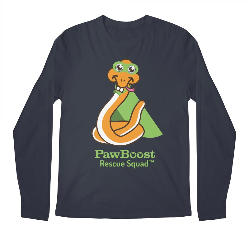 Stanley (snake) Men's Regular Longsleeve T-Shirt by PawBoost's Shop