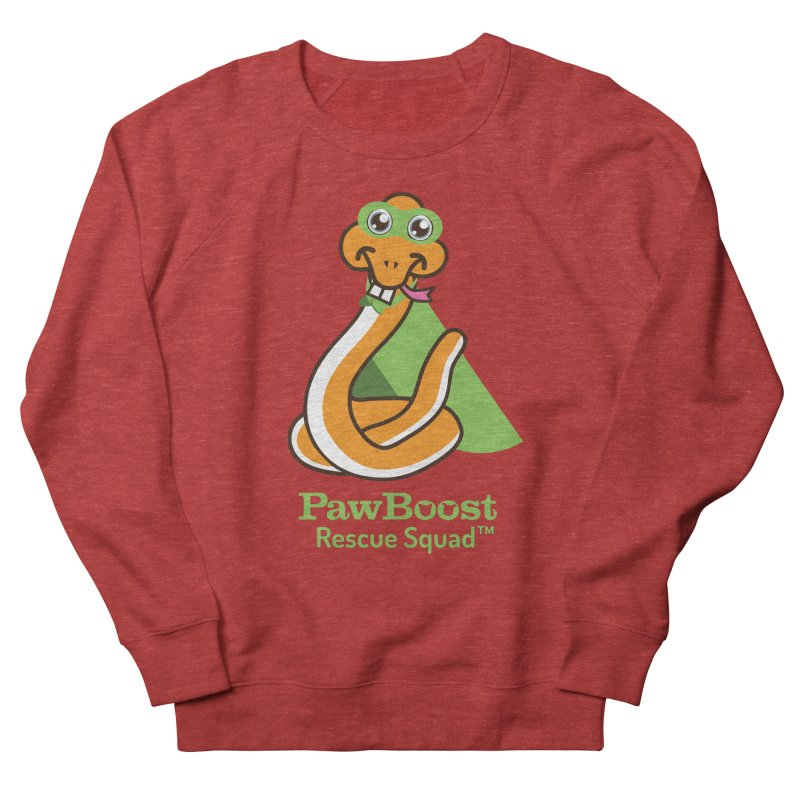Stanley (snake) Men's French Terry Sweatshirt by PawBoost's Shop