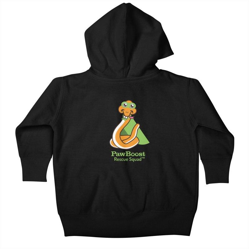 Stanley (snake) Kids Baby Zip-Up Hoody by PawBoost's Shop