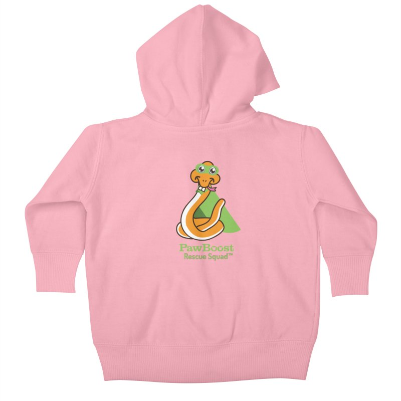 Stanley (snake) Kids Baby Zip-Up Hoody by PawBoost's Shop