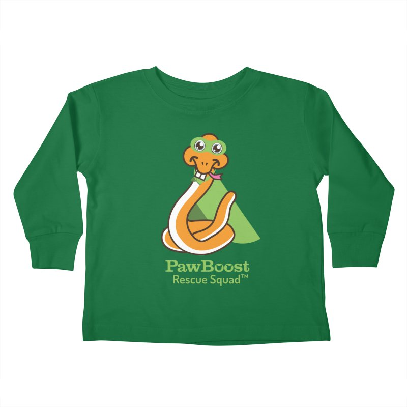 Stanley (snake) Kids Toddler Longsleeve T-Shirt by PawBoost's Shop