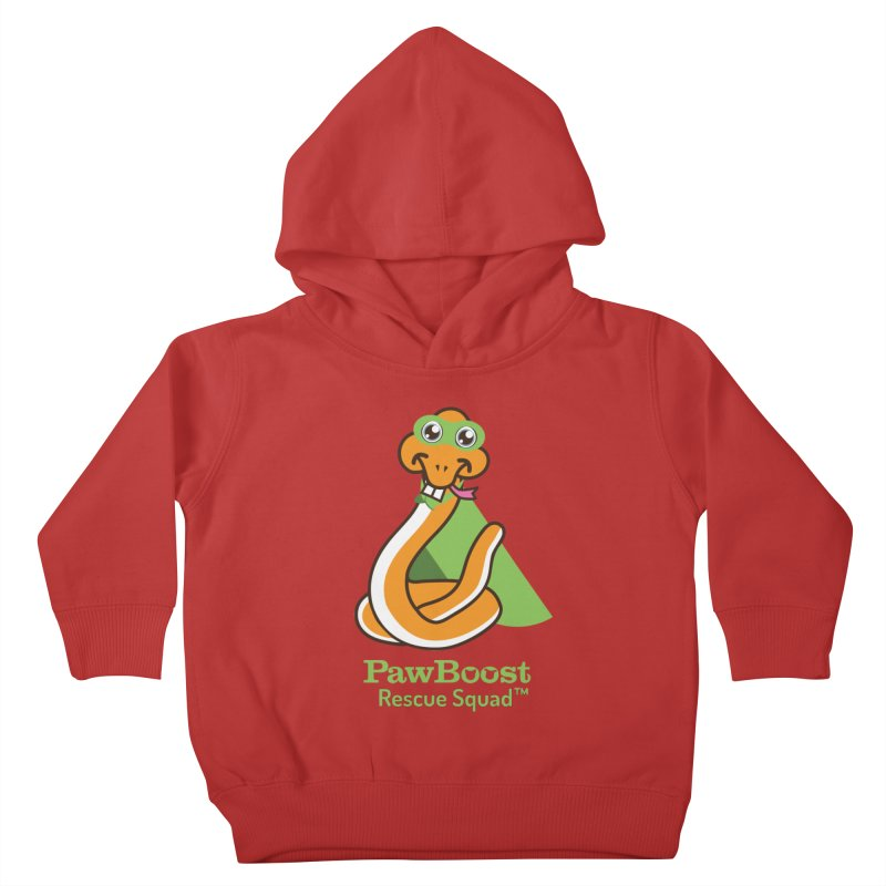 Stanley (snake) Kids Toddler Pullover Hoody by PawBoost's Shop