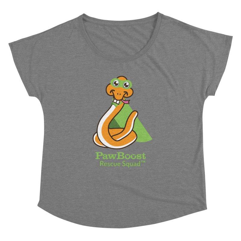 Stanley (snake) Women's Dolman Scoop Neck by PawBoost's Shop