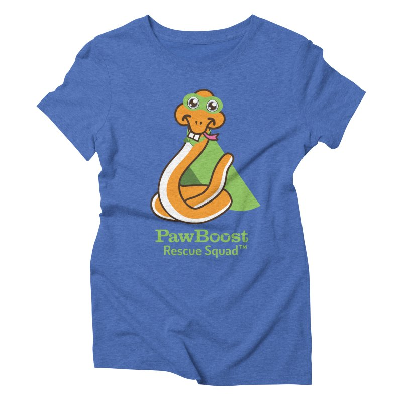 Stanley (snake) Women's Triblend T-Shirt by PawBoost's Shop