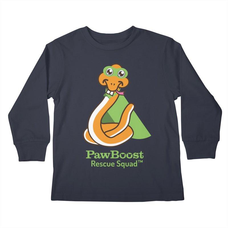 Stanley (snake) Kids Longsleeve T-Shirt by PawBoost's Shop
