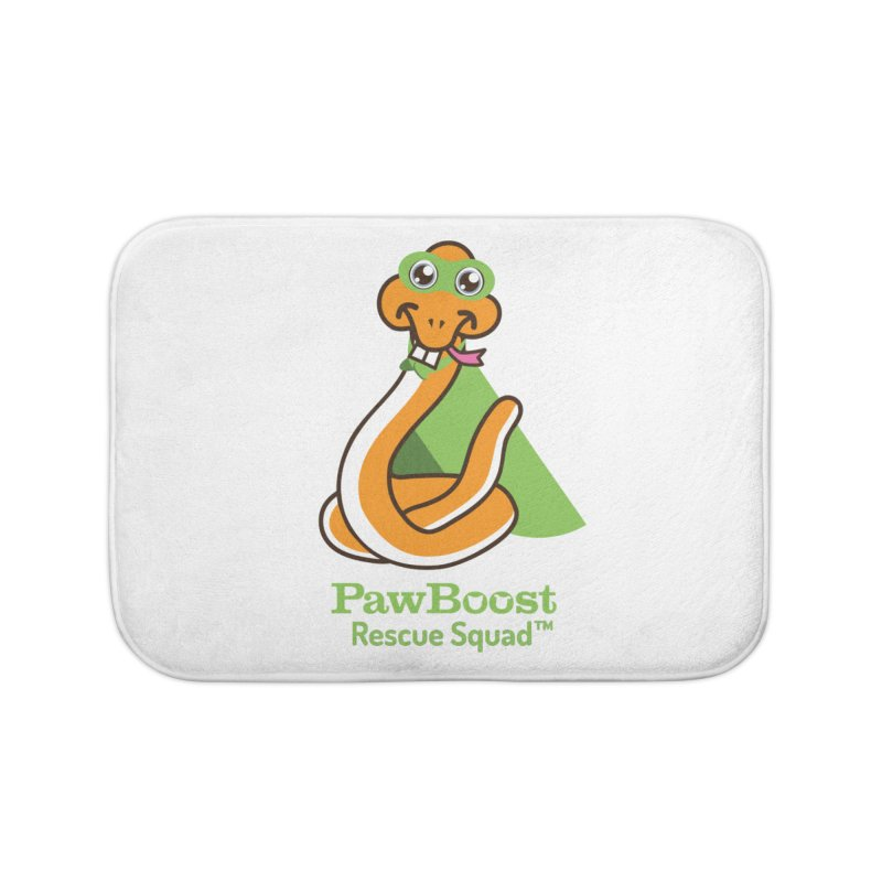 Stanley (snake) Home Bath Mat by PawBoost's Shop
