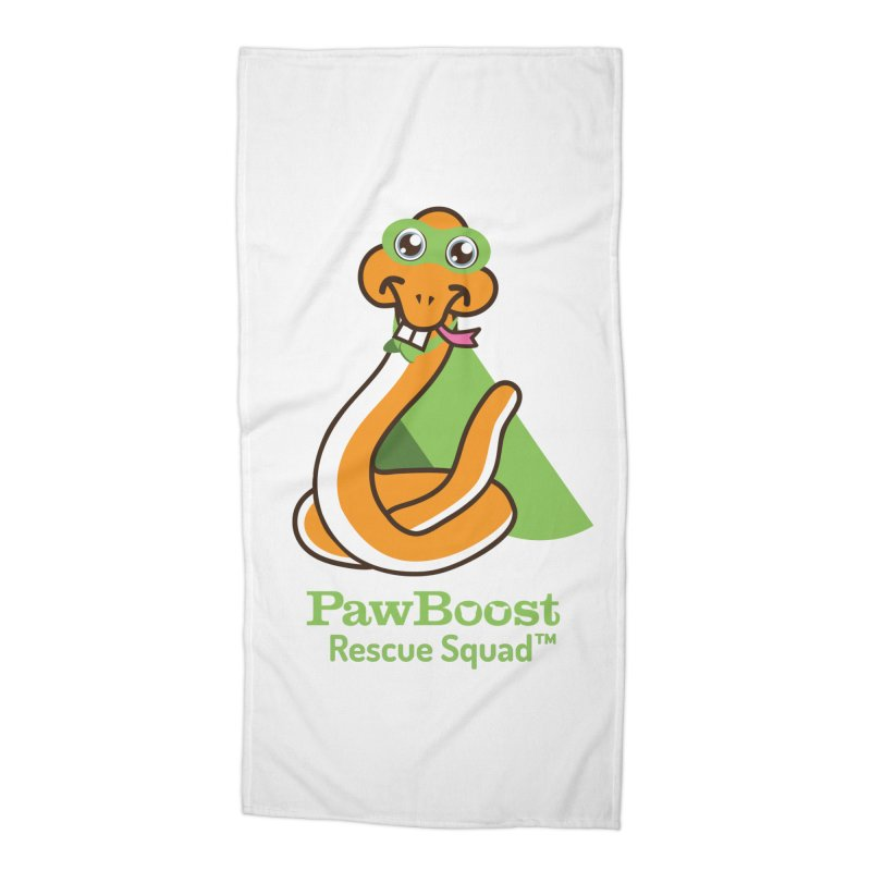 Stanley (snake) Accessories Beach Towel by PawBoost's Shop