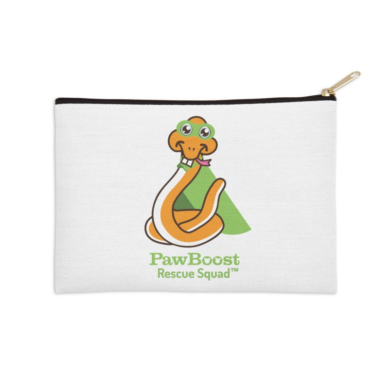 Stanley (snake) Accessories Zip Pouch by PawBoost's Shop
