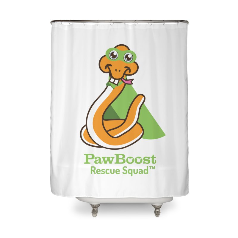 Stanley (snake) Home Shower Curtain by PawBoost's Shop