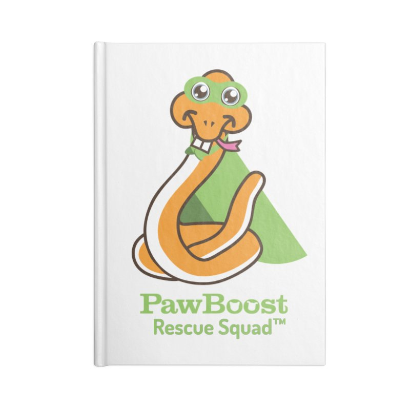 Stanley (snake) Accessories Notebook by PawBoost's Shop