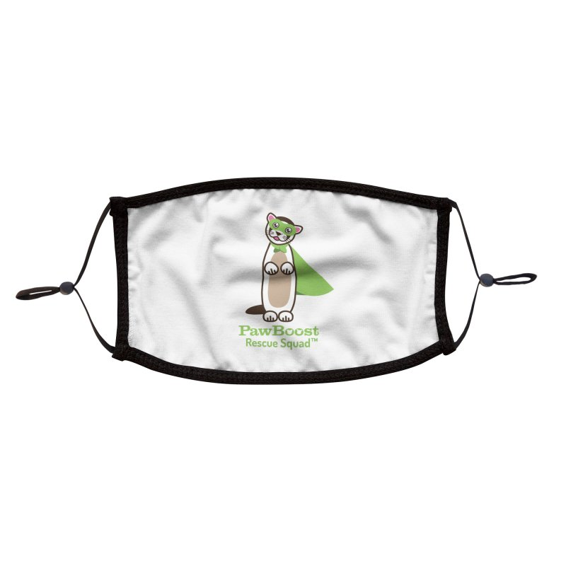 Frankie (ferret) Accessories Face Mask by PawBoost's Shop